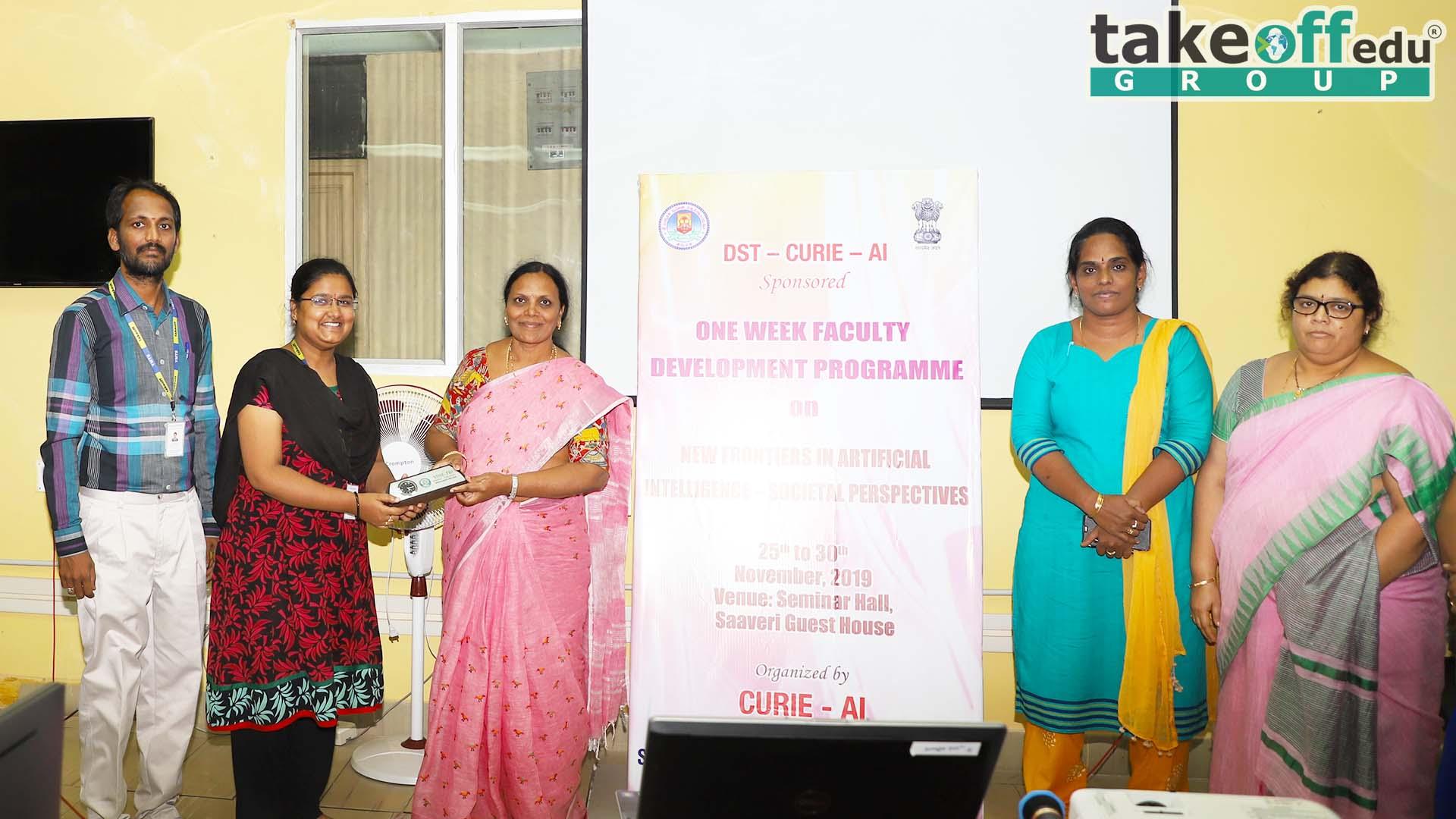 Sri Padmavati Mahila Visvavidyalayam, Tirupati , FDP