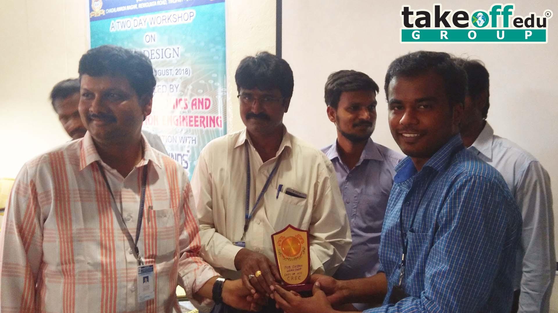 Chadalawada Ramanamma Engineering College, Tirupati , PCB Design