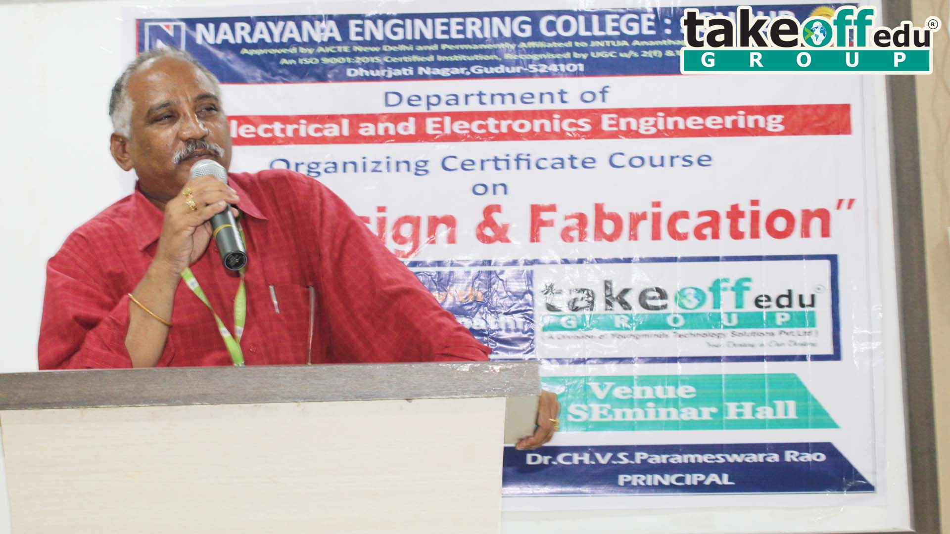 Narayana Engineering College, Gudur ,  PCB DESIGN & FABRICATION
