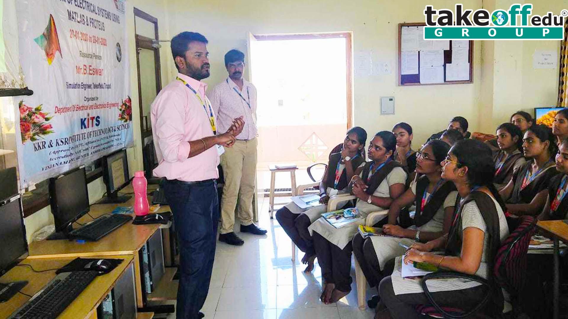 KITS - KKR & KSR Institute of Technology and Sciences, Vinjanampadu, Guntur, A.P , MATLAB & PROTEUS