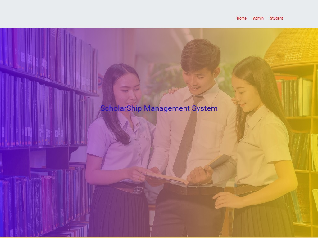 Scholarship Management System