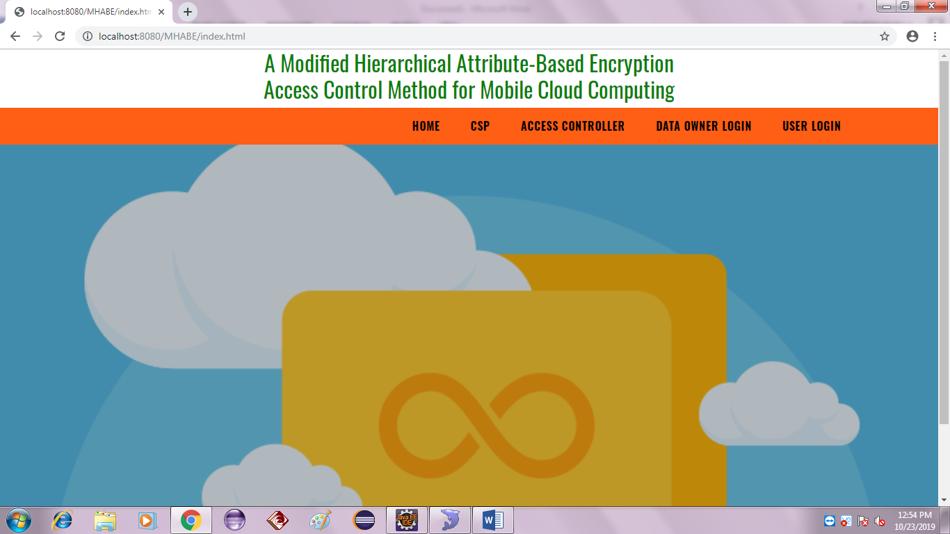 A Modified Hierarchical Attribute-Based Encryption Access Control