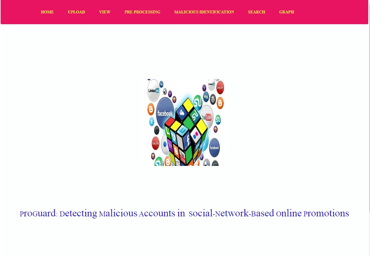 Pro Guard: Detecting Malicious Accounts in Social-Network-Based Online Promotions