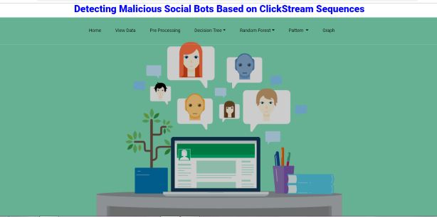 Detecting Malicious Social Bots Based On Clickstream Sequences