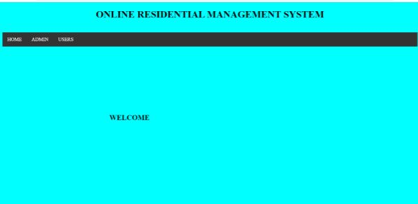 Residential Management System