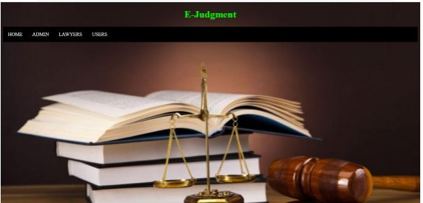 E-judgment