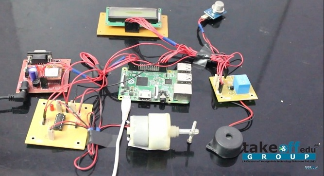 Drunk And Drive Detection with Vehicle Ignition Lock using Raspberry Pi